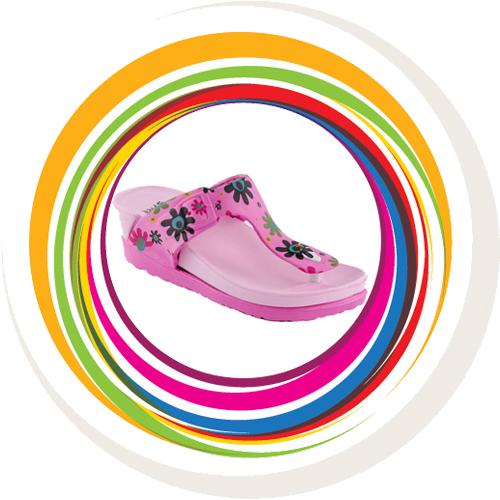 Bristo Wedges - Pink 1