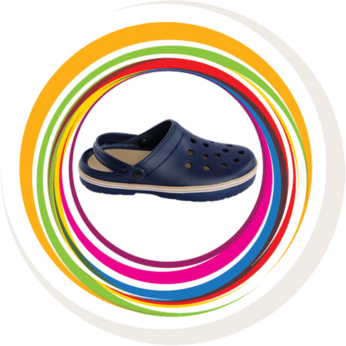 Garden Clogs - Blue 3