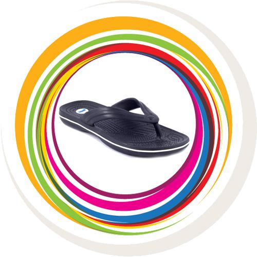 Glider-v-shape - Black (White Border) 1
