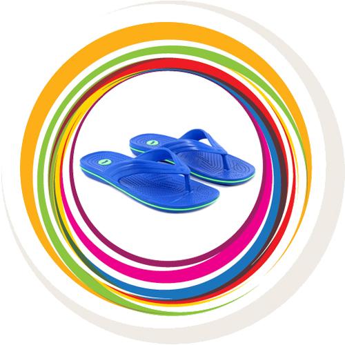 Glider-v-shape - Blue (Green Border) 2