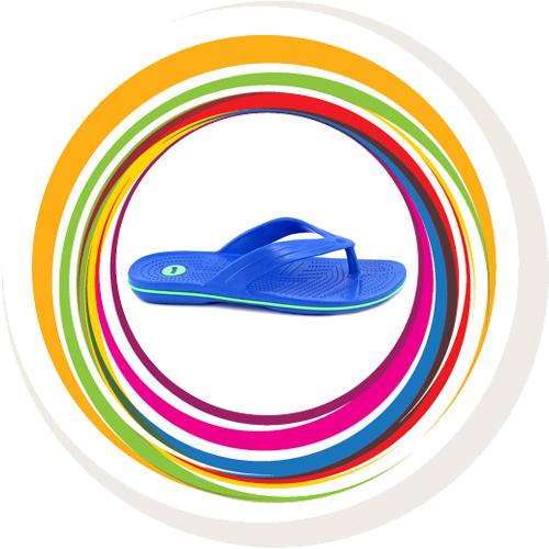 Glider-v-shape - Blue (Green Border) 3