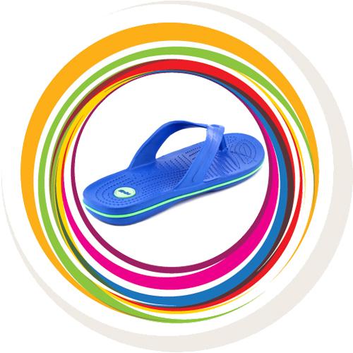 Glider-v-shape - Blue (Green Border) 4
