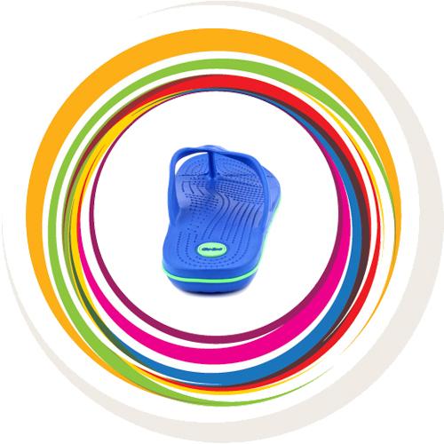 Glider-v-shape - Blue (Green Border) 5