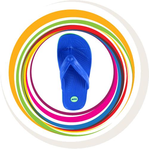Glider-v-shape - Blue (Green Border) 6