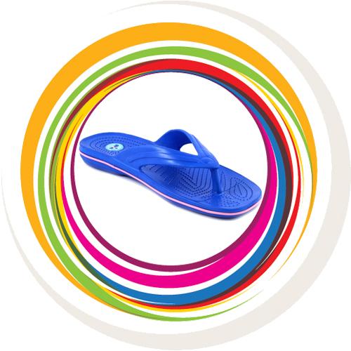 Glider-v-shape - Blue (Lt Pink Border) 1