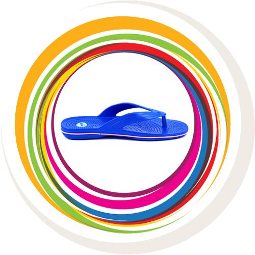 Glider-v-shape - Blue (Lt Pink Border) 2