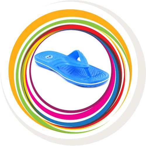 Glider-v-shape - Blue (White Border) 1