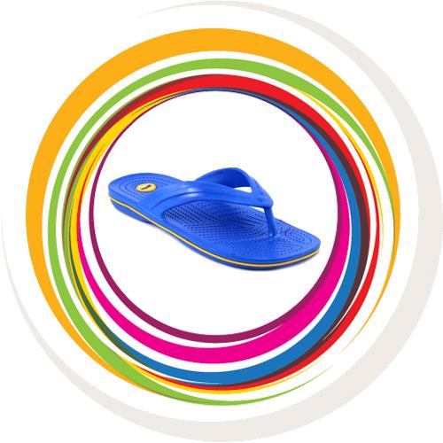 Glider-v-shape - Blue (Yellow Border) 1