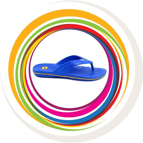 Glider-v-shape - Blue (Yellow Border) 3