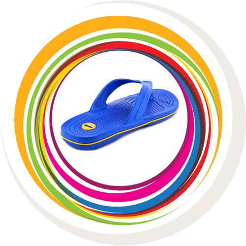 Glider-v-shape - Blue (Yellow Border) 4