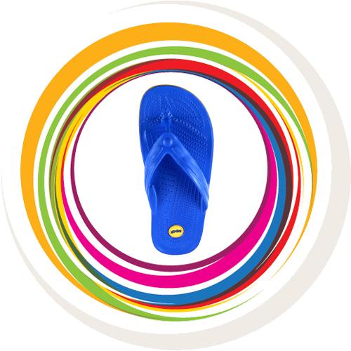 Glider-v-shape - Blue (Yellow Border) 6
