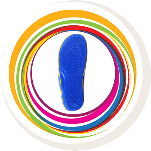 Glider-v-shape - Blue (Yellow Border) 7