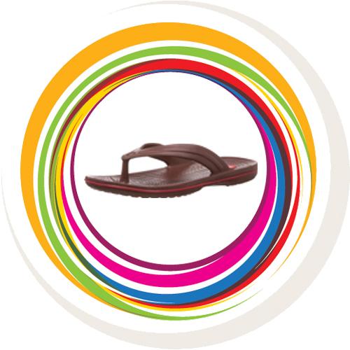 Glider-v-shape - Brown (Red Border) 1