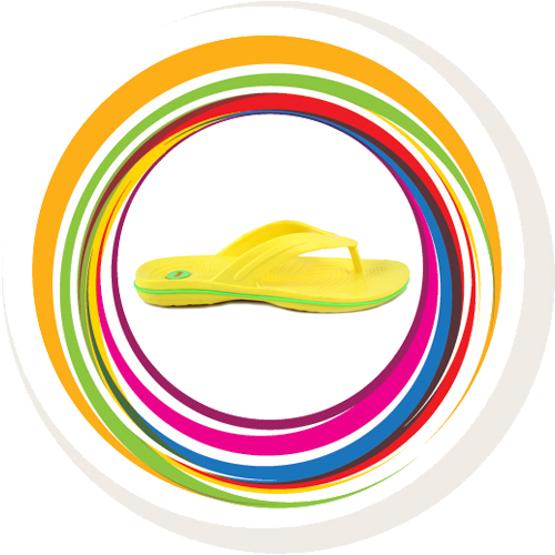Glider-v-shape - Yellow (Green Border) 3