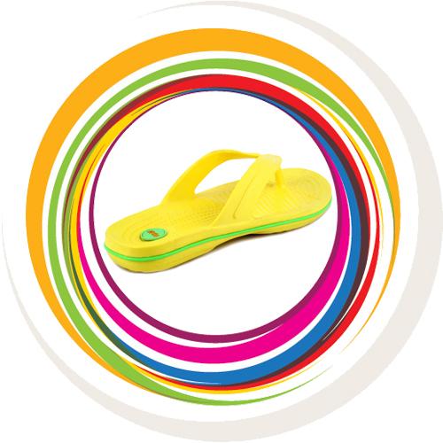 Glider-v-shape - Yellow (Green Border) 4