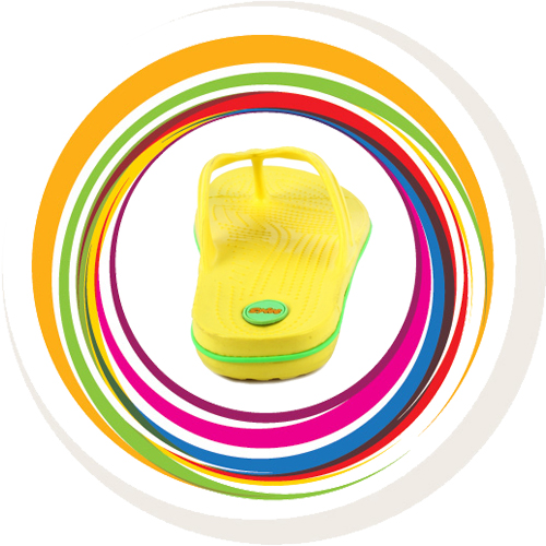 Glider-v-shape - Yellow (Green Border) 5