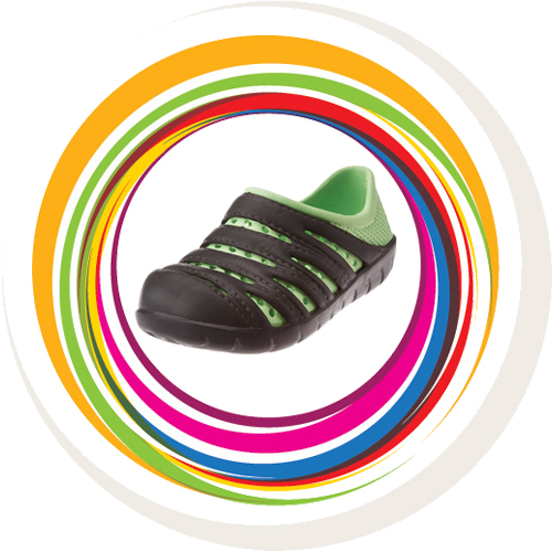 KIDS TROT - Black Green 1