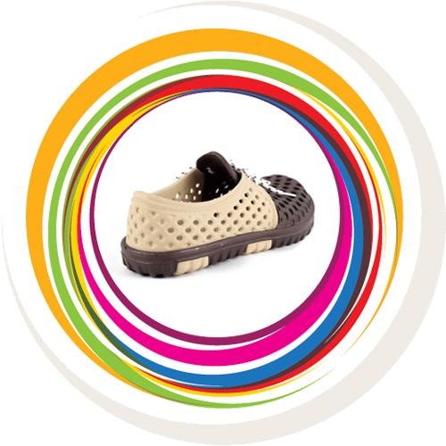 Laced Shoe - Beige & Brown 3