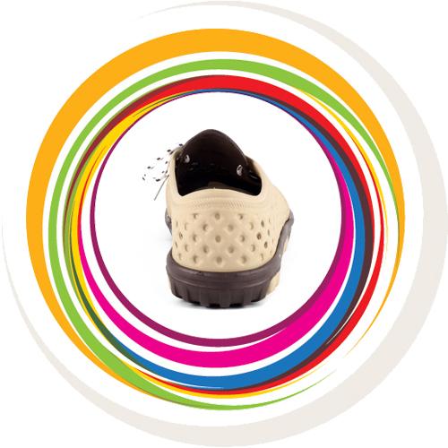 Laced Shoe - Beige & Brown 4
