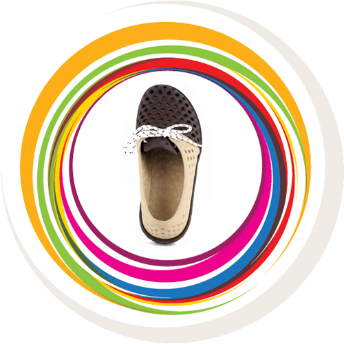Laced Shoe - Beige & Brown 6